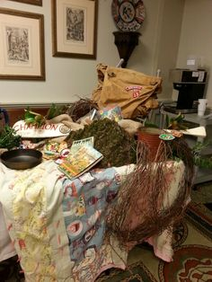 Eagle scout buffet tables and scouts on pinterest for Award ceremony decoration ideas