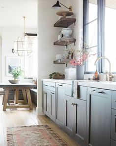 We can't get enough kitchen inspiration, and these ten beauties from Studio McGee remind us why. Start your week out with plenty of kitchen love! Studio Kitchen, New Kitchen, Kitchen Dining, Kitchen Decor, Room Kitchen, Kitchen Tips, Kitchen Island, Diy Kitchen Cabinets, Grey Cabinets