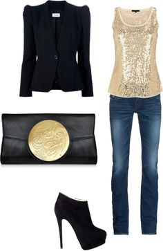 Polyvore Combinations For A Night Out - fashionsy.com