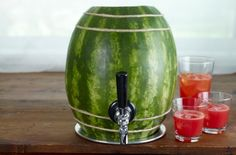 Tap a watermelon keg for summer cocktail excitement!