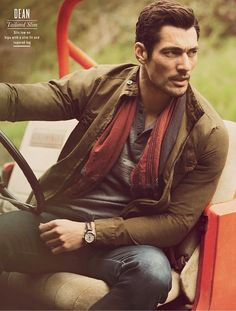 David Gandy -Source-: David Gandy for Lucky Brand F/W 2012 Campaign (New Pics) + Video