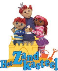 Het Zandkasteel: haal het trio naar uw winkelcentrum of evenement. Zowel als Meet & Greet als in show te boeken. http://www.looppoppen.nl/Zandkasteel.htm