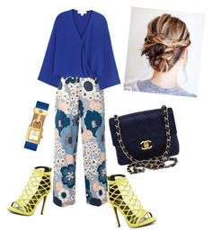 """Untitled #134"" by lindacorp on Polyvore featuring Chloé, Diane Von Furstenberg, Wild Diva, Chanel and Tory Burch"