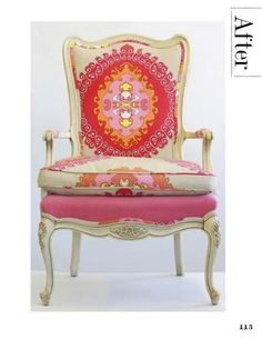 Funky Chair - inspiration from House of Fifty Magazine