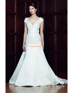 Augusta Jones 2013 A-Linie  Schicke Hochzeitskleider aus Taft