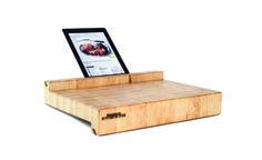 iBlock: Schneidebrett bekommt iPad-Halterung - Engadget German