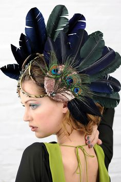 feather headress armor - Bing images