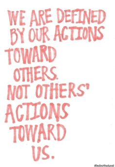 Our Actions... - Quote Generator QuotesAndSayings