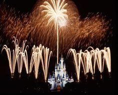 Wishes Fireworks over Cinderella Castle at Disney's Magic Kingdom