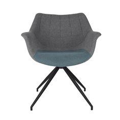 Hoe mooi kan een kantoorstoel zijn? De Doulton stoel is zo mooi dat hij kan dienen als eetkamerstoel, bureaustoel of fauteuil! Nog een kleine tip: denk je eens in hoe deze stoel er uit ziet gecombineerd met onze OMG stoelen?