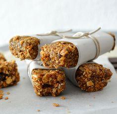 Postres Saludables | Cómo hacer barritas energéticas de cereales caseras y saludables | http://www.postressaludables.com