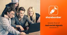 ShareBomber Lets You Make Money By Using Facebook, Twitter and Google+. Sign Up Now For a $10 Starting Balance!