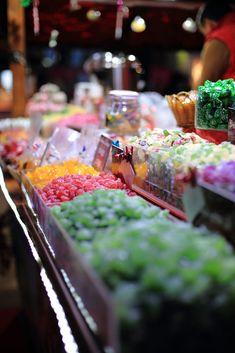 Sweet shop in Paris, France
