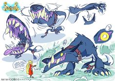 • video games animation wolves gobi abraça ankama Big Bad Wolf baptiste gaubert bill otomo catfishdeluxe •