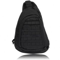 Large Sling Single Shoulder Bag Backpack Gear Pack Tactical One Strap Heavy Duty Waterproof Chest Pack