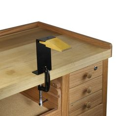 Note to self: buy this, buy two.  Portable Bench Pin With Clamp. $29.95