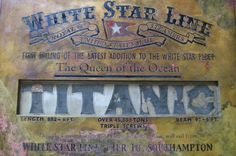 It's a find of Titanic proportions. A silver-and-bronze plaque from the iconic sunken ship has been identified in the Spanish city of Granada after more than a century adrift. Rms Titanic, Titanic Wreck, Titanic Photos, Titanic Sinking, Titanic Ship, Titanic History, Ancient History, Southampton, Belfast