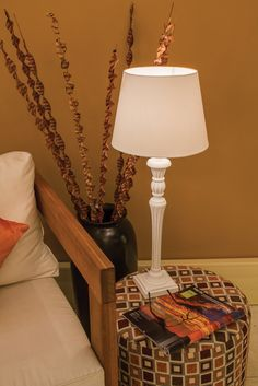 New Antique White Table Lamp Stands Pair It With A Eurolux Shade And You Have
