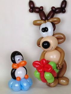 The Playful And Charming Aspects Of Balloon Art - Bored Art Christmas Balloons, Christmas Decorations, Sculpture Ballon, Baloon Art, Twisting Balloons, Balloon Modelling, Photo Balloons, Red Balloon, Balloon Ideas