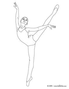 ballerina coloring pages - Pictures Of Coloring Sheets