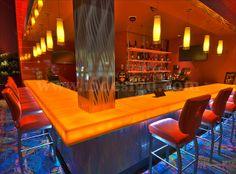 Casino Bar Design | Corner Bar Design | Bar Counter Design | Custom Materials | Custom Bar Design by I-5 Design & Manufacture, via Flickr