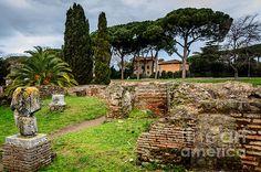 Title  Ostia Antica - A City Of Multiple Levels   Artist  Debra Martz   Medium  Photograph - Photography