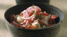Ceviche, yes please!