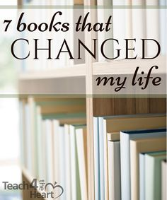 7 books that have changed my life
