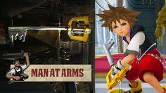 Real Sora's Keyblade from Kingdom Hearts - MAN AT ARMS
