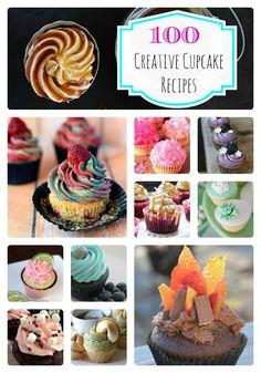 100 Creative Cupcake Recipes
