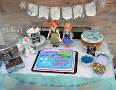 Stampin' Dolce: Frozen Birthday Party!