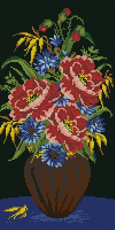 Cross Stitch Love, Cross Stitch Pictures, Cross Stitch Flowers, Beaded Christmas Ornaments, Christmas Cross, Modern Cross Stitch Patterns, Cross Stitch Designs, Silk Ribbon Embroidery, Hand Embroidery