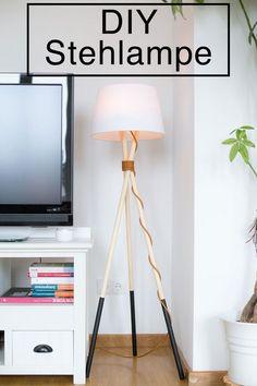 Stehlampe DIY Tutorial von Pech&Schwefel