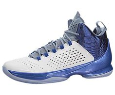 Nike Jordan Men's Jordan Melo M11 White/White/Game Royal/Cl Blue Basketball Shoe 9.5 Men US - http://airjordankicksretro.com/nike-jordan-mens-jordan-melo-m11-whitewhitegame-royalcl-blue-basketball-shoe-9-5-men-us/