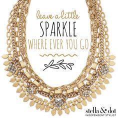 Sutton // Stella & Dot // Versatile // Earrings // Necklace // Bracelet // Purse Get the look!!! www.stelladot.com/alexiabrandofino