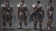 Garen - League of Legends, Alessandro Baldasseroni on ArtStation at http://www.artstation.com/artwork/garen-league-of-legends