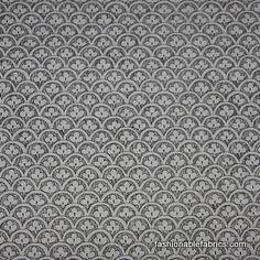 Fabric... A Ghastlie Clover in smoke by Alexander Henry