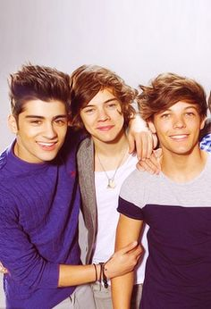 zayn, harry, and louis :)