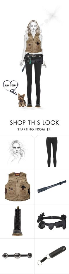 """""""The Best Defense"""" by susanelizabeths ❤ liked on Polyvore featuring rag & bone, Overland Sheepskin Co., Cree, Dr. Martens, Beretta, CO, starwars, contestentry and theforceawakens"""