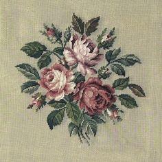 Cross Stitch Rose, Cross Stitch Flowers, Cross Stitch Embroidery, Cross Stitch Patterns, Hand Embroidery Flowers, Polymer Clay Flowers, Small Flowers, Drawing, Flower Art