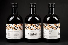 Sentos - Quinta das Almoinhas (huile d'olive) | Design : David Matos, Berlin, Allemagne (juin 2016)
