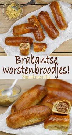 Dutch Recipes, Pastry Recipes, Cooking Recipes, Sauerkraut, Tapas, Individual Pies, Good Food, Yummy Food, Party Food And Drinks