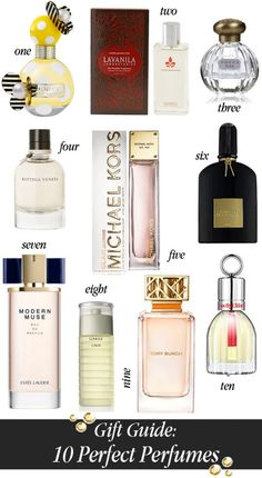 Gift Guide // A Fragrance For Every Girl on Your List  #holiday