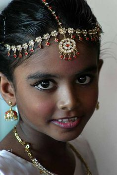 This could be Ruchi in my novel Captured by Moonlight. www.christinelindsay.com Little Ruchi who was married at 7 years old.