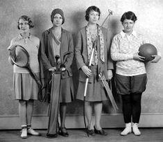 1920's Women Athletes