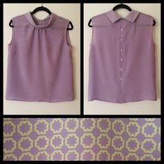 Simplicity 7315 in a gorgeous lilac silk! #vintagepledge