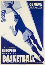Genève - Basketball, Tournoi Européen des cités - 1936