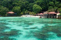 The Pulau Payar Marine Park or Payar Island Marine Park is situated in the northern part of the Straits of Malacca, near Kuala Kedah and thirty kilometers south of Langkawi Island. It is a very popular tourist destination. The Pulau Payar Marine Park covers two nautical miles off four little islands - Pulau Payar (the largest), Pulau Kaca, Pulau Lembu and Pulau Segantang.