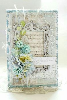 New Wedding Card Ideas Diy Shabby Chic Ideas Mixed Media Cards, Shabby Chic Cards, Handmade Card Making, Beautiful Handmade Cards, Marianne Design, Card Making Inspiration, Pretty Cards, Card Tags, Paper Cards