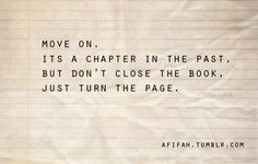 just turn the page <3